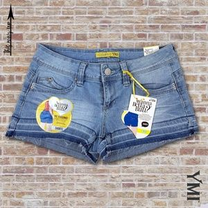YMI BETTA BUTT Denim Short Shorts